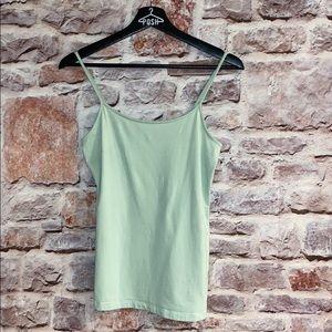 Mint green cami tank